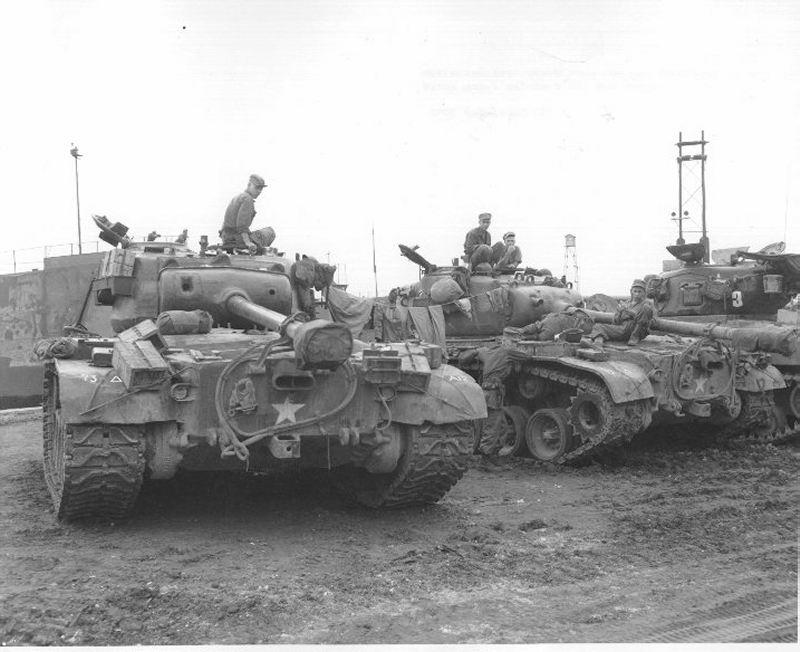 US-tanks-korea