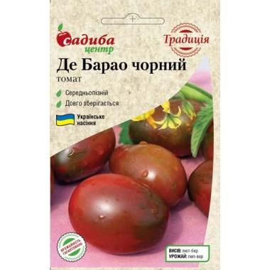 Семена помидор высокорослых Де Барао черный 0.1 г